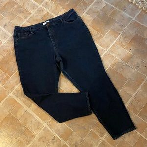 LOFT curvy high rise ankle skinny jeans size 16